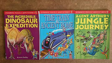 Usborne Puzzle Adventure Books Collection